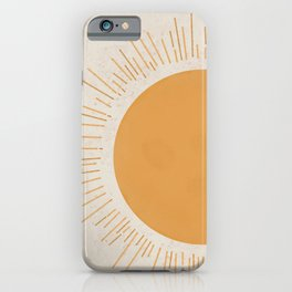 Mustard Sun | Minimal iPhone Case