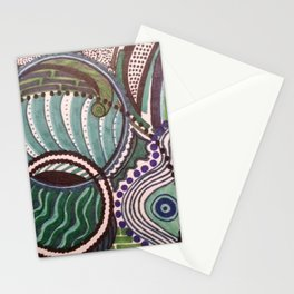 EMERGING WAVES Stationery Cards