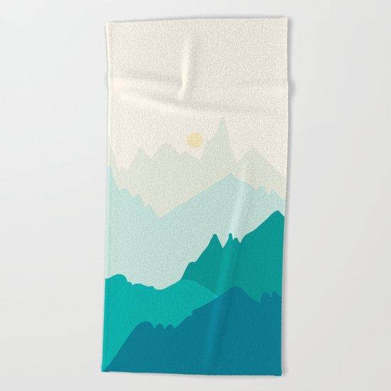 Landscape NC 11 Beach Towel