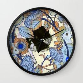 Bridie, Dreaming Wall Clock