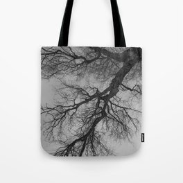 Lungs of the Earth   Nature Photography   Weeping Willow   Black and White   black-and-white   bw Tote Bag