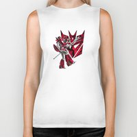 transformers Biker Tanks featuring Transformers Air Guitar'n Con by Laserbot
