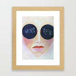 HeartFace by Sophia6 Framed Art Print