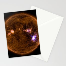 Solar Flares, Sept. 4, 2017 Stationery Cards
