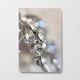 Sparkle - JUSTART ©, macro photography. Metal Print
