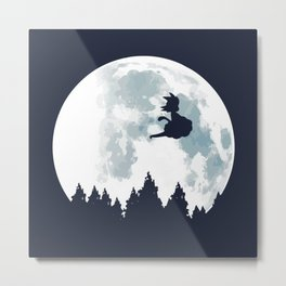 The Moon on Dragon Ball Metal Print