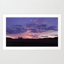 Sunset Dusk Art Print