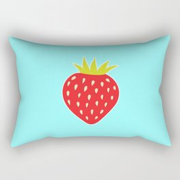 Strawberry No. 1 Rectangular Pillow