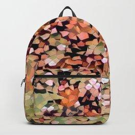 Micro Confetti Peach Lime Backpack