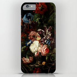 "Ernst Stuven ""Still life of flowers"" iPhone Case"