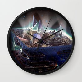 Departure from Delica-1 Wall Clock