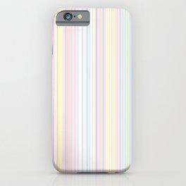 Happy Dream -Elegant Colorful stripe- iPhone Case
