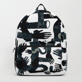 black hands Backpack