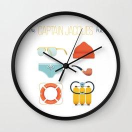 Captain Jacques 02 Wall Clock