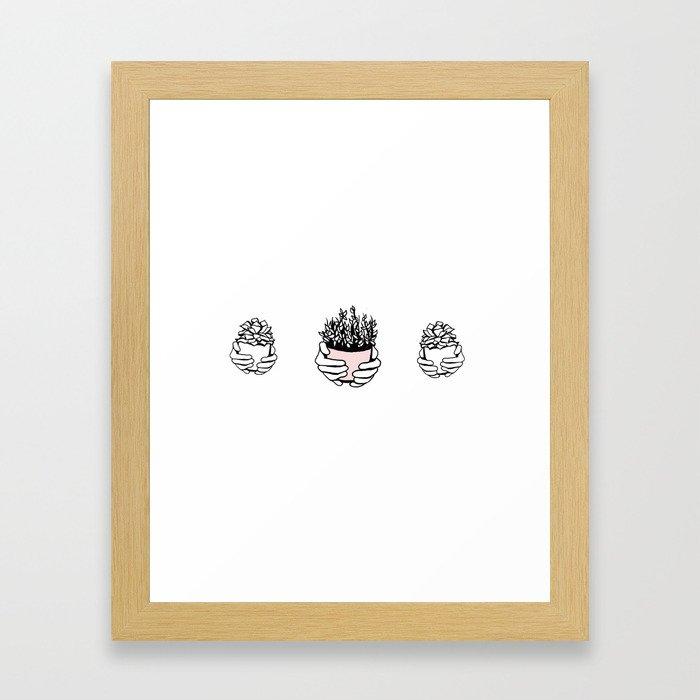 For Ally Framed Art Print
