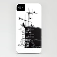French rooftops Slim Case iPhone (4, 4s)