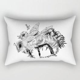 Bee - Go vegan Rectangular Pillow