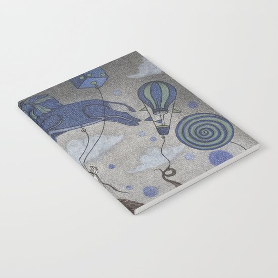 Violetta Dreaming Notebook