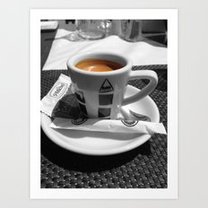 Coffee - espresso Art Print