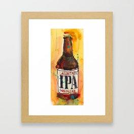 IPA Beer Lagunitas  Framed Art Print