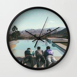 jonas brothers happiness 2020 Wall Clock