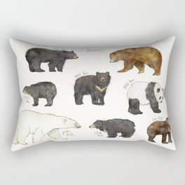 Bears Rectangular Pillow
