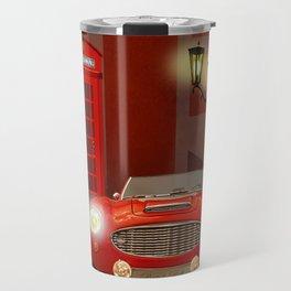 British RED Travel Mug
