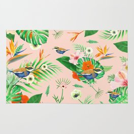 Jewel of The Forest - Pink Rug