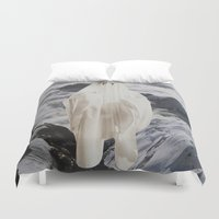 ghost Duvet Covers featuring Ghost by John Turck