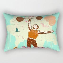 VINTAGE STRENGTH Rectangular Pillow