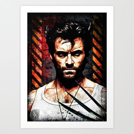 The Weapon XFactor Art Print