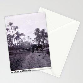 Landskap mellan Badrashin och Memfis Stationery Cards