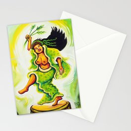 Uzume Goddess of Laughter & Mirth Stationery Cards
