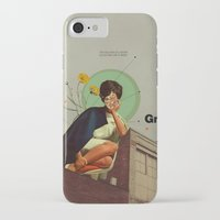 grey iPhone & iPod Cases featuring Grey by Frank Moth