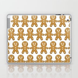 Gingerbread Cookies Pattern Laptop & iPad Skin