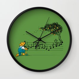 Maestro of Nature Wall Clock