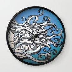 Whirl Wind  Wall Clock