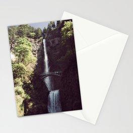 Multnomah Falls Waterfall - Nature Photography Stationery Cards