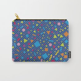 Geometric Multicolor Background XIV Carry-All Pouch
