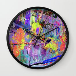 """Most Of My """"Heroes"""" Used/Use """"Bad Words"""" (Recombinant Series) Wall Clock"""