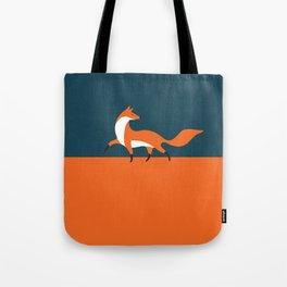 Fox walk Tote Bag