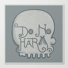 Do No Harm Canvas Print