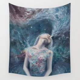 Love Will Split You Open Into Light Wall Tapestry