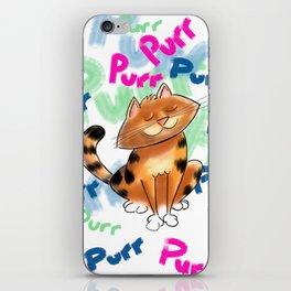 Purr! iPhone Skin