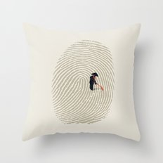 Zen Touch Throw Pillow