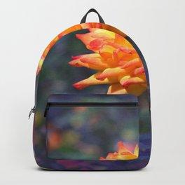 Flaming rose Backpack