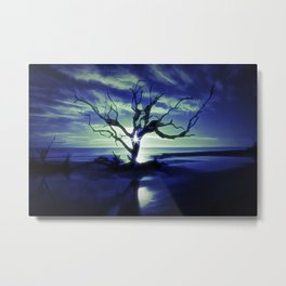Dead Tree with Modification Metal Print