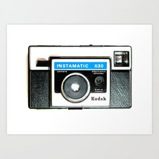 Instamatic Art Print