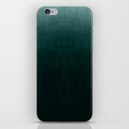 Ombre Emerald iPhone Skin