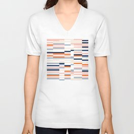 Connecting lines 2. Unisex V-Neck